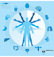 Health And Medical Infographic vector image vector image