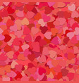 seamless random heart pattern background vector image vector image
