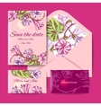 sketch of flowers vector image vector image