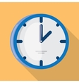 wall clock icon flat design vector image vector image