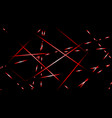 abstract background light lines color red vector image