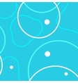 background with abstract circles patterns vector image