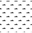 boat pattern seamless vector image