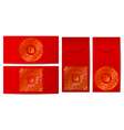 China red envelope vector image vector image