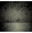 Concrete grunge room vector image