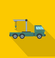 industrial crane icon flat style vector image