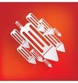 Pencil web icon vector image vector image