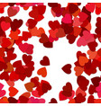 repeating heart pattern background - from rotated vector image vector image