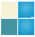 set of seamless blueprint background vector image