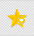 star icon heart icon vector image vector image