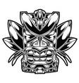 totem hawaiian tiki god tribal stock vector image