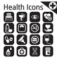 white medical icon vector image vector image