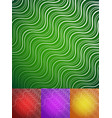 abstract wavy lines background vector image