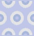 boho polka dot blue seamless pattern vector image vector image