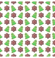 Christmas Seamless Pattern with Cookies vector image vector image