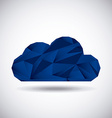 clouds abstract vector image