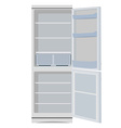 Fridge or refrigerator vector image vector image
