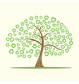 recycle tree vector image vector image