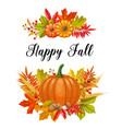 seasonal fall banners vector image