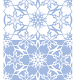 snowflakes seamless texture 02 vector image vector image