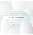 background with ovals vector image