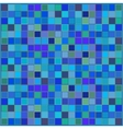 blue squared background vector image