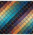 Diagonal plaid background vector image