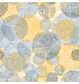 fingerprint seamless background on square shape vector image