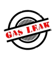 Gas Leak rubber stamp vector image vector image