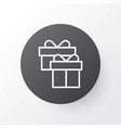gift box icon symbol premium quality isolated vector image vector image