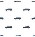 hearse icon in cartoon style isolated on white vector image vector image