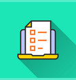 online education icon for graphic and web design vector image