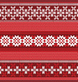 pattern with lapland motifs vector image vector image