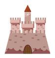 royal castle icon cartoon style vector image vector image