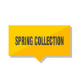spring collection price tag vector image vector image