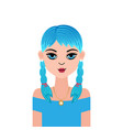 astrology symbol zodiac sign cancer in doodle vector image