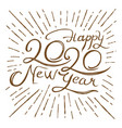 collection happy new year vector image