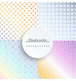 geometric patternpattern fills web page vector image vector image