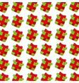 gift box present pattern background vector image