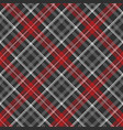 gray plaid fabric texture seamless pattern vector image vector image