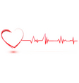 Heart with cardiology vector | Price: 1 Credit (USD $1)