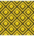 Seamless pattern with golden squares vector image vector image