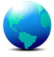 America Europe vector image