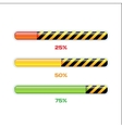 Progress Web Downloading Bar vector image