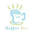 Coffee bar sign vector image