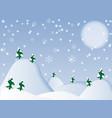 winter background- vector image
