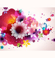 Abstract floral spring background vector | Price: 1 Credit (USD $1)