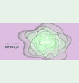 background with light green and lilac color paper vector image
