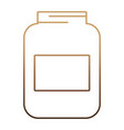 bottle icon image vector image vector image