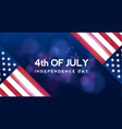creative invitation flyer decorated american vector image